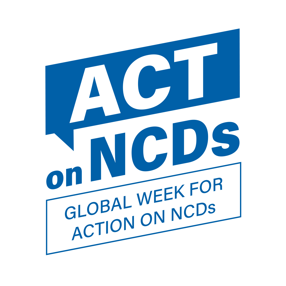 Act on NCDS logo blue