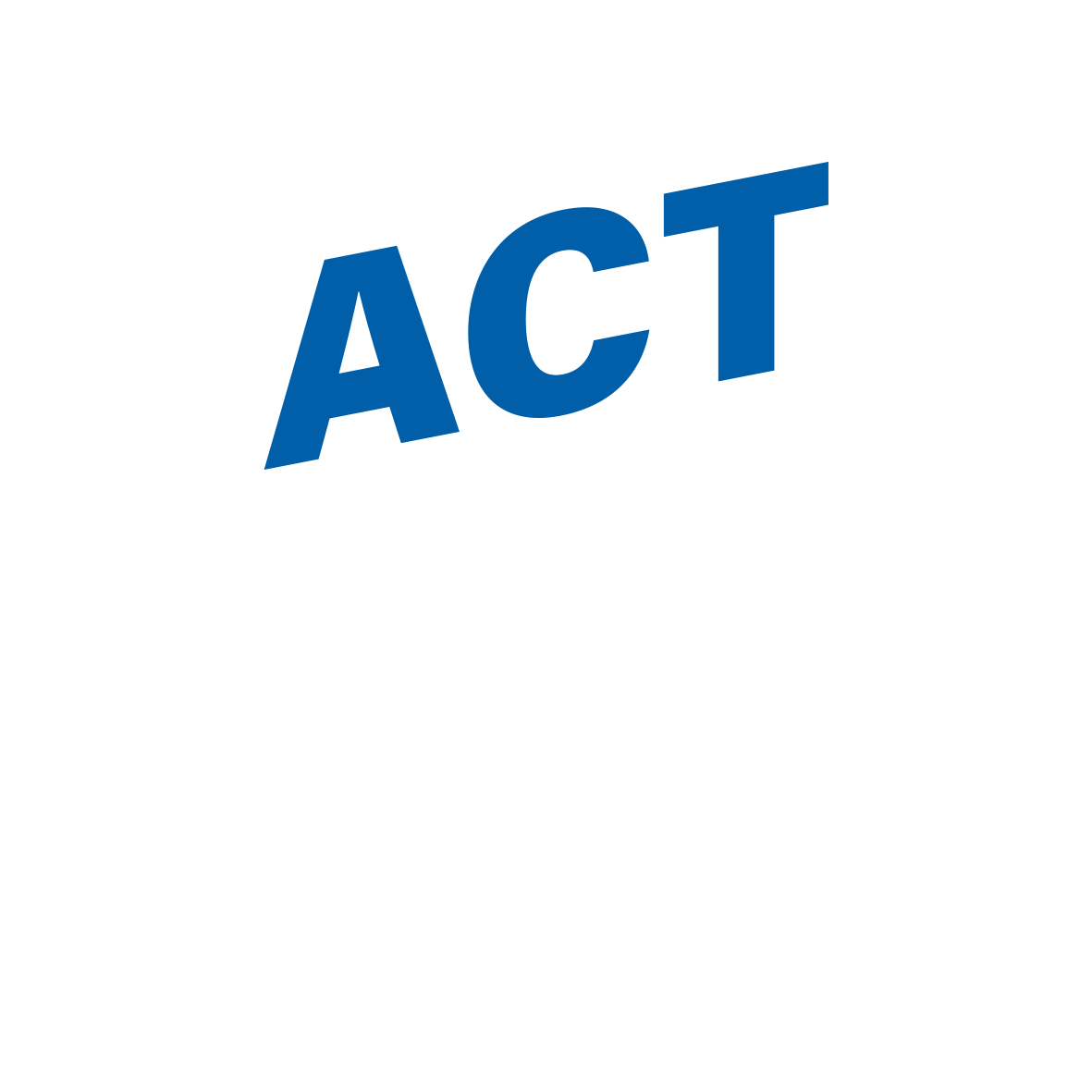 Act on NCDS logo blue negative