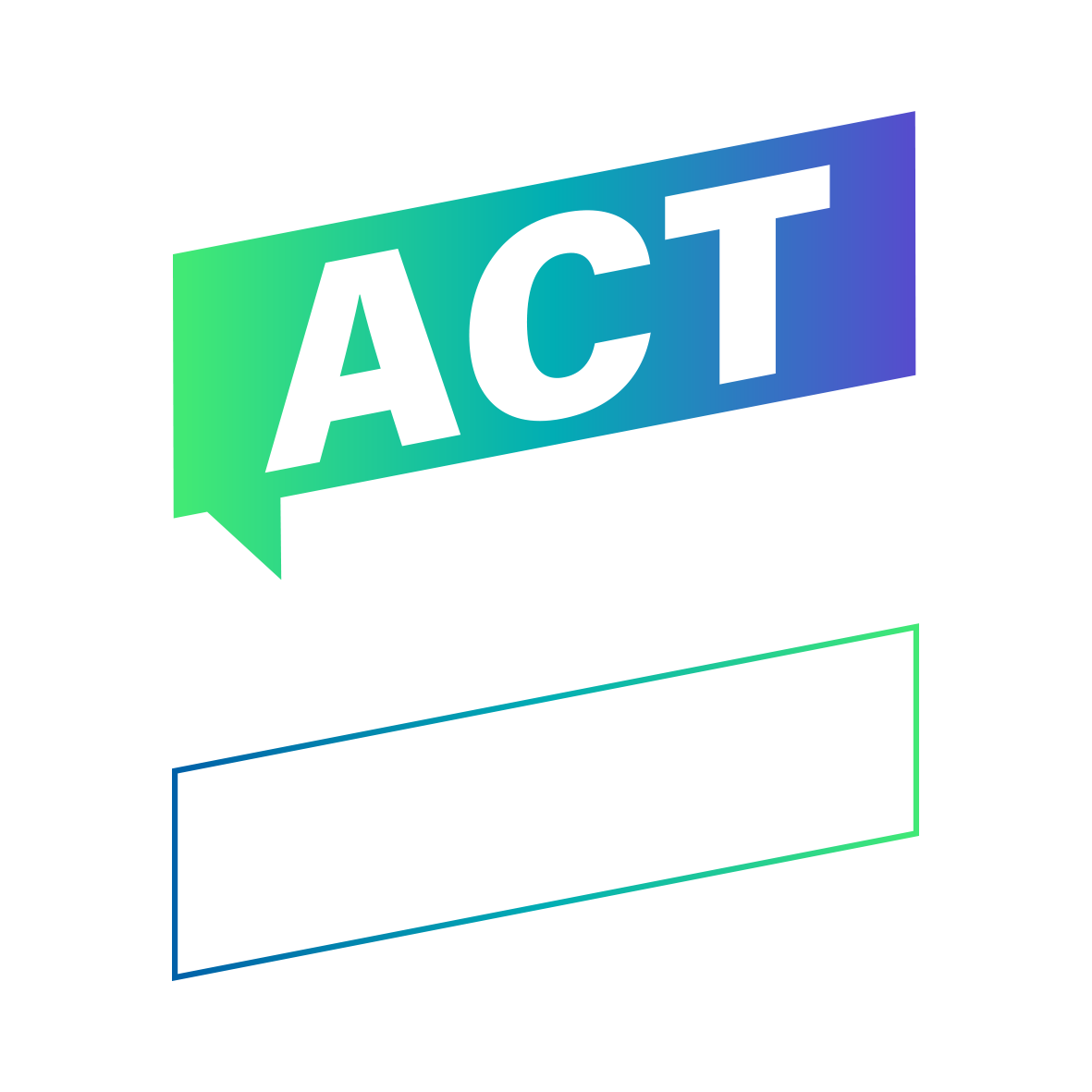 Act on NCDS logo colour negative