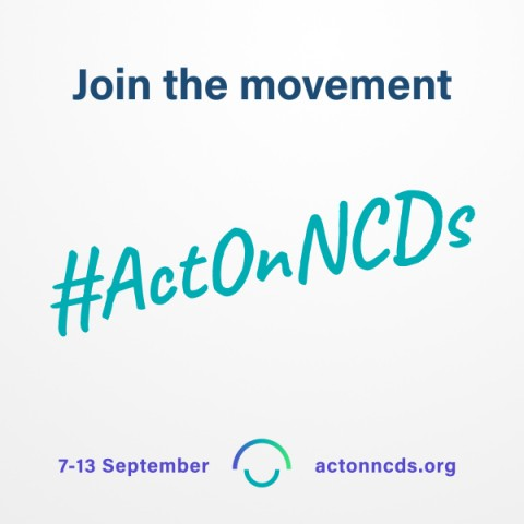 Act on NCDs - Join the movement