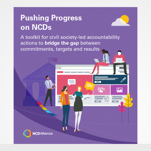 Pushing for Progress on NCDs cover