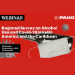 PAHO webinar on alcohol and COVID-19