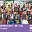 Global Week for Action on NCDs 2020
